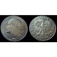 5 злотых 1932 (1)  XF, отличное коллекционное состояние