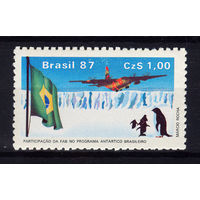 1987 Бразилия. Участие ВВС в бразильской антарктической программе