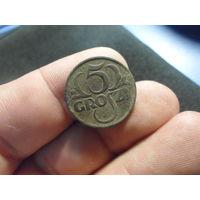 5 грошей 1923 г. Речь Посполита (11)