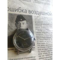 Редкие военные часы CRONOS DH заказ вермахта,1940-е.