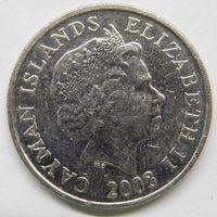 Каймановы острова 10 центов 2008 г