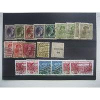 Люксембург старые марки