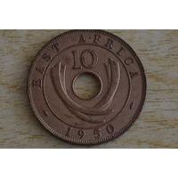Восточная Африка 10 центов 1950