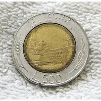 500 лир 1990 Италия #01