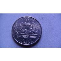 США 25 центов 2003г ARKANSAS (D)  распродажа