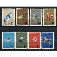 Польша - 1966 - Космос - [Mi. 1730-1737] - полная серия - 8 марок. MNH.