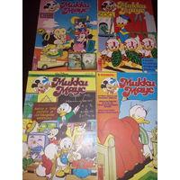 Комиксы Микки Маус (4 шт.) 1994 г.