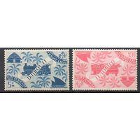 Стандартный выпуск Паровозы Джибути 1943 год 2 чистых марки