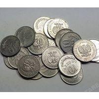 Польша, 10 грошей 1949,1965,1966,1967,1968,1970,1971,1972,1973,1974,1975,1976,1977,1978, 1979, 1980,1981 год.