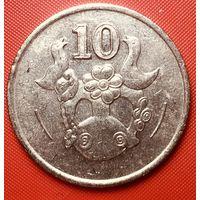 29-18 Кипр, 10 центов 1993 г.