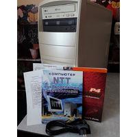 Системный блок Intel Pentium 4. Для восстановления или на запчасти.