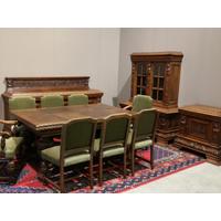 Комплект антикварной мебели.