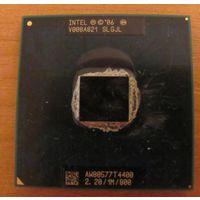 Мобильный процессор  SLGJL Dual Core T4400