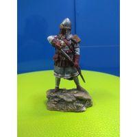 Солдатики оловянные (военно-историческая миниатюра) воин Великого княжества Литовского