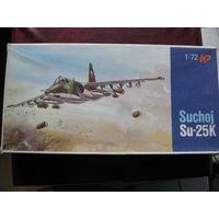 Су-25К модель штурмовика 1/72 фирмы КР (Чехословакия)