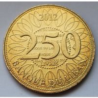 Ливан 250 ливров 2012 г.
