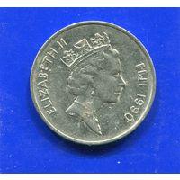 Фиджи 10 центов 1990