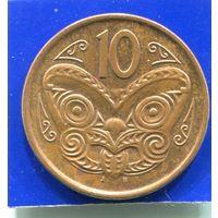 Новая Зеландия 10 центов 2006