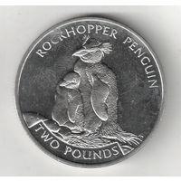 Южная Георгия и Южные Садвичевы острова 2 фунт 2006 Хохлатый пингвин