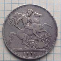 Крона 1898г Британия.