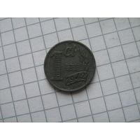 Нидерланды 1 цент 1942г. оккупация