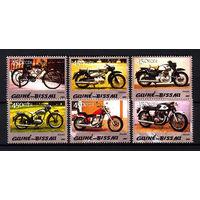 2005 Гвинея-Бисау. Мотоциклы