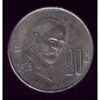 20 сентаво 1979 год Мексика