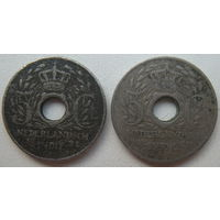 Голландская Ост-Индия 5 центов 1921, 1922 гг. Цена за 1 шт. (g)