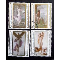 Куба 1990. Картины в Национальном музее. Полная серия