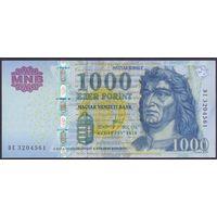 Венгрия, 1000 форинтов 2010 года.