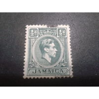 Ямайка, колония Англии 1938 король Георг 6