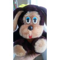 Собака Щенок игрушка мягкая 17 см Подарок Сувенир День рождения День Св.Валентина 8 марта