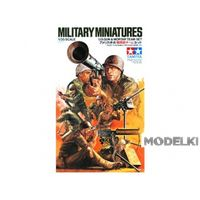 Американские пулеметчики, зенитчики, гранотометчики, минометчики и телефонист в бою (8 фигур), сборная модель 1/35 Tamiya (J) 35086