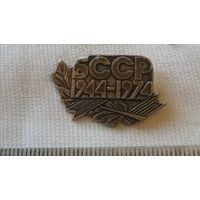 Нагрудный знак(1944-1974 БССР)