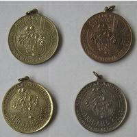 Национальный фестиваль бега Языльская десятка (4 медали)