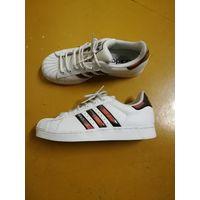 Кроссовки Adidas superstar, р.40. Кожа