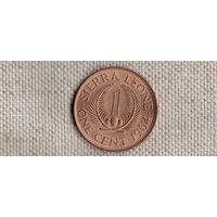 Сьерра-Леоне 1 цент 1964/флора/(Qu)