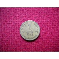Кения 1 шиллинг 1998 г.