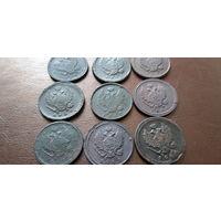 2 коп 1811,1812,1813,1814,1820