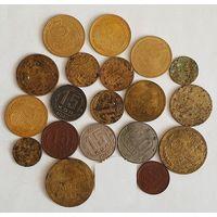 19 монет СССР до 1961 года (1929-1957 годы)