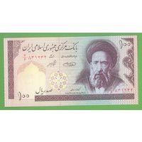 Иран 100 риалов UNC