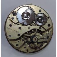 """Механизм от карманных часов """"Longines"""" Швейцария. Диаметр 4.4 см.  Не исправный."""
