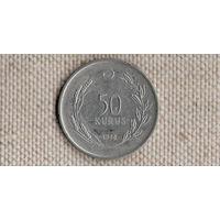 Турция 50 куруш 1975 /Xx