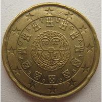 Португалия 20 евроцентов 2005 г.