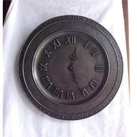 Настенные часы Юнганс Олово Пьютер Германия Junghans Electric Quartz