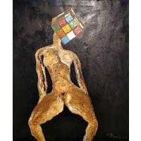 """Картина """"Любимый кубик"""""""