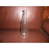 Бутылка старинная(водка,вино),вда влено донышко.