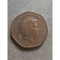 Гернси 20 пенсов 1999г