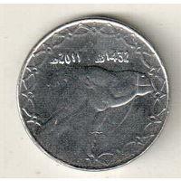 Алжир 2 динар 2011