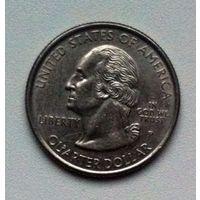 25 центов 1999 P СШA New Jersey медно-никелевый сплав